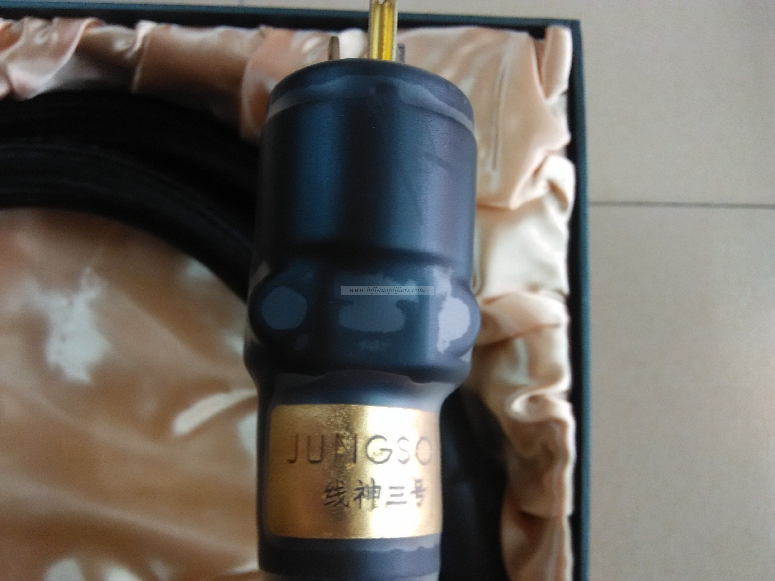 JungSon Deity No.3 Power Cable US Plug HIFI Copper Power Cord for Hi-end System