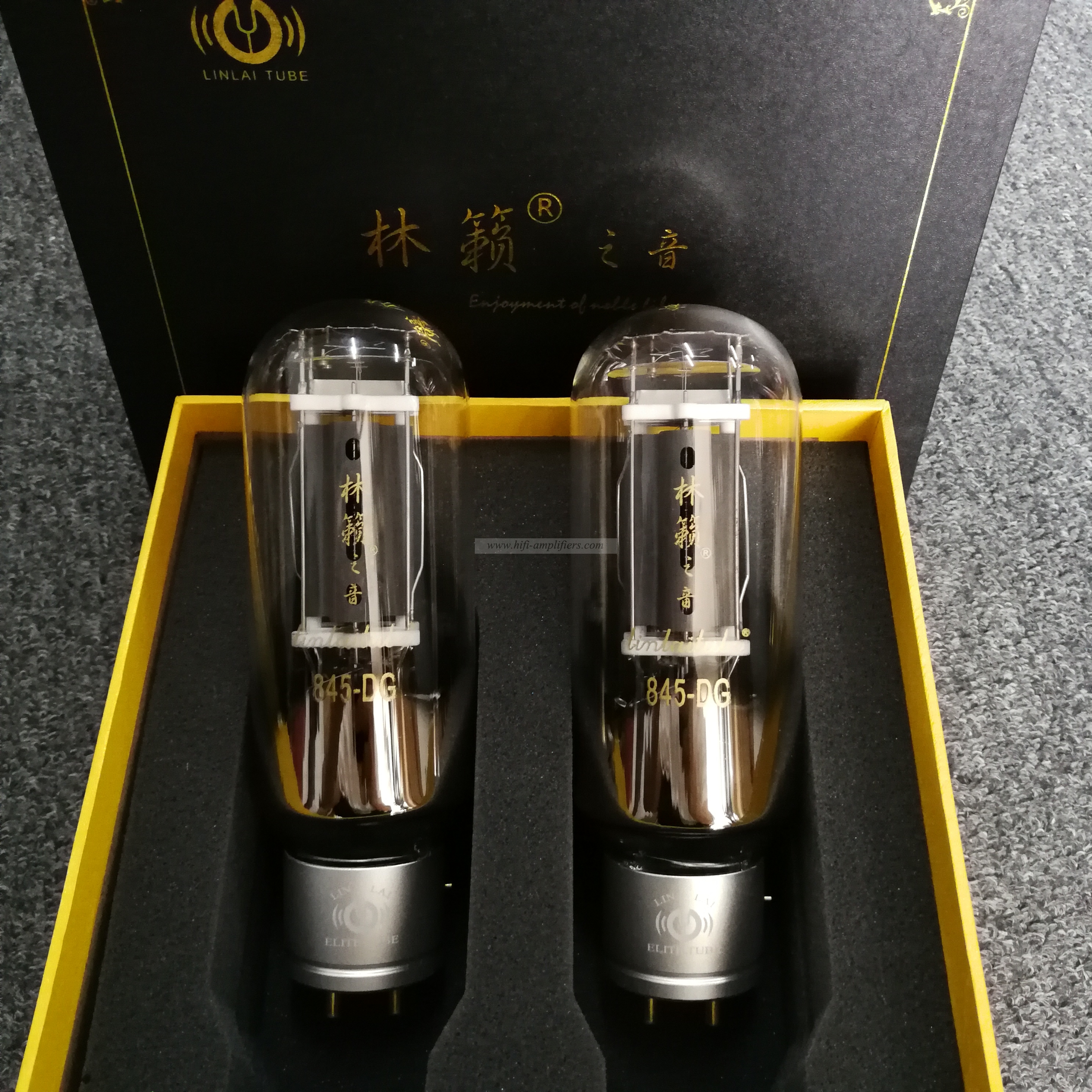 LINLAITUBE DG Series 845-DG Hi-end Vacuum Tube Replace Shuguang 845 Matched Pair
