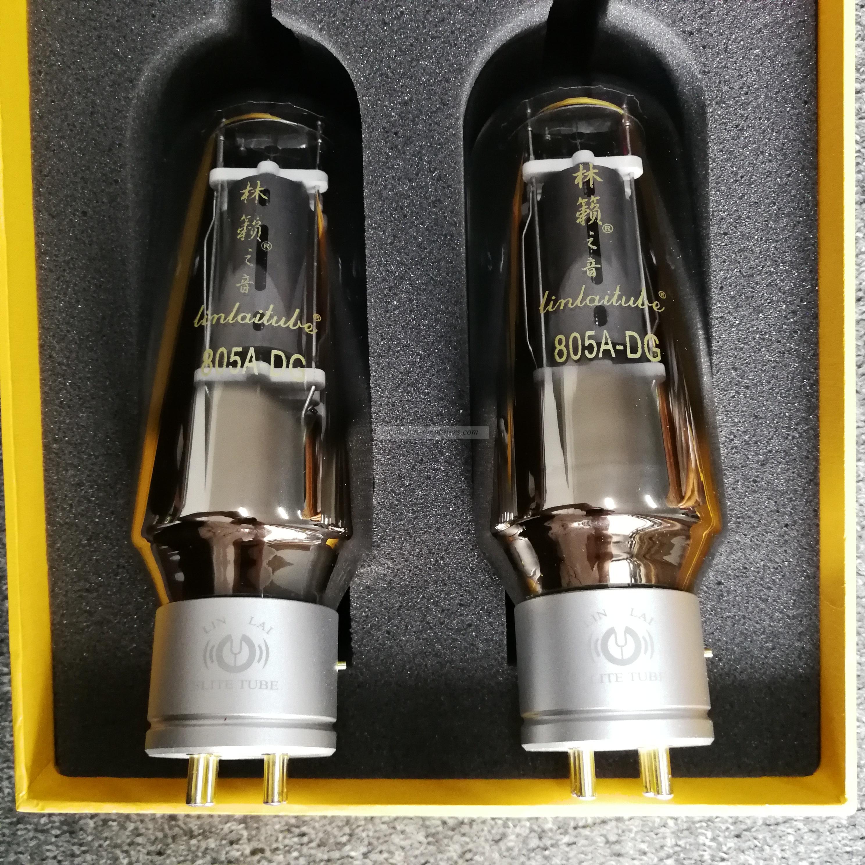 LINLAITUBE DG Series 805A-DG Hi-end Vacuum Tube Electronic valve Matched Pair