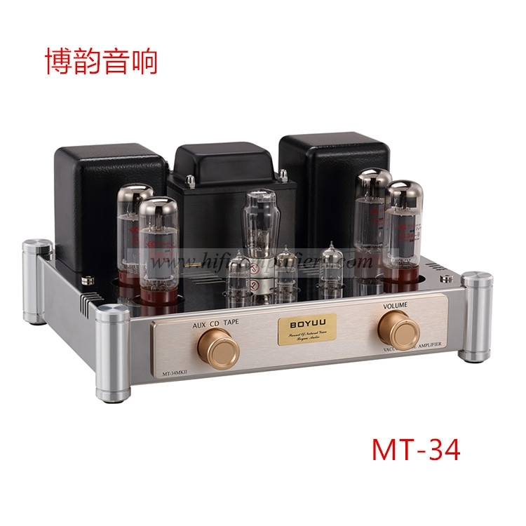REISONG Boyuu MT-34 Push-pull Rectifier Audio HiFi EL34 HIFI Tube Amplifier