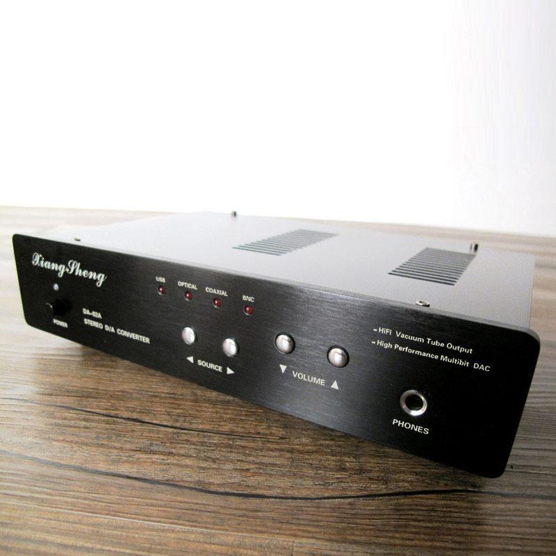 XiangSheng DAC-02A DAC Converter Headphone Amplifier Black