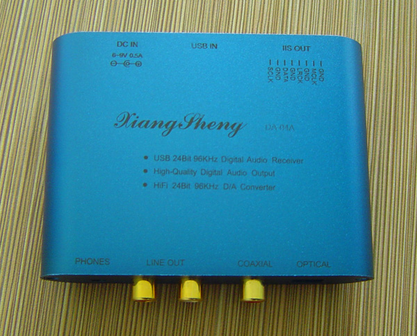 Xiangsheng DA-04A BL TE7022L USB DAC Converter Headphone Decode