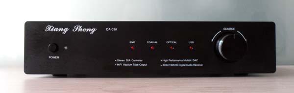 XiangSheng DAC-03A  Hifi AK4118+AK4495 Decoder  Digital  Converte Coaxial Optical