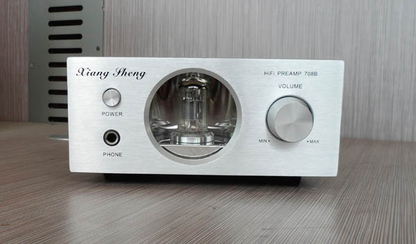 XiangSheng Preamp-708B Class A Tube Headphone Amp