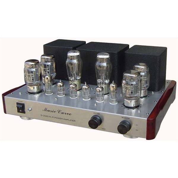 Music Curve D-2020-KT100 Push-Pull tube Integrated Amplifier new