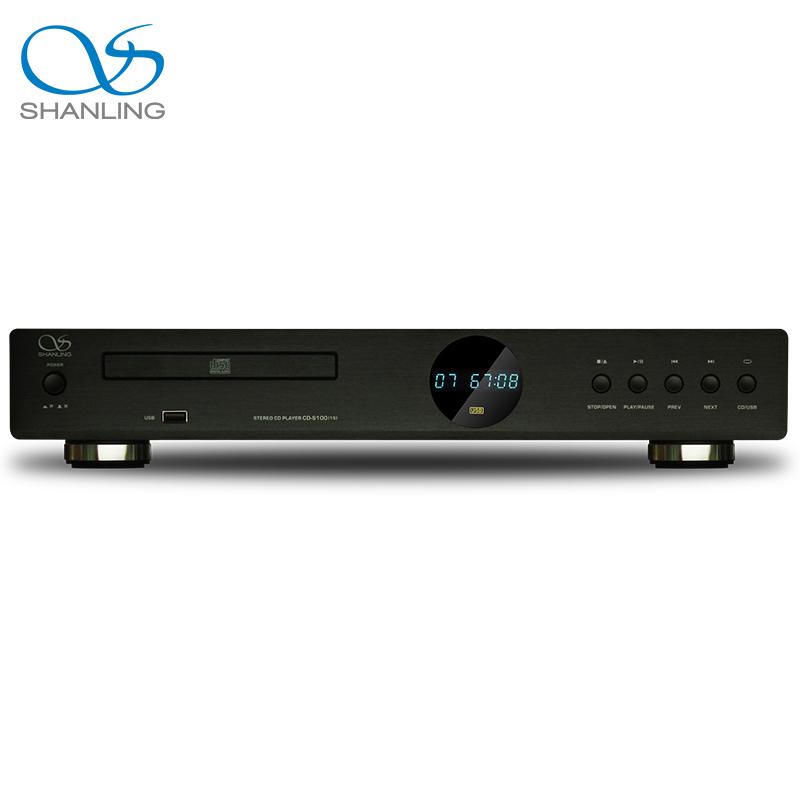 Shanling CD-S100(15) Hifi CD player USB Reader turnable compatible HDCD Black
