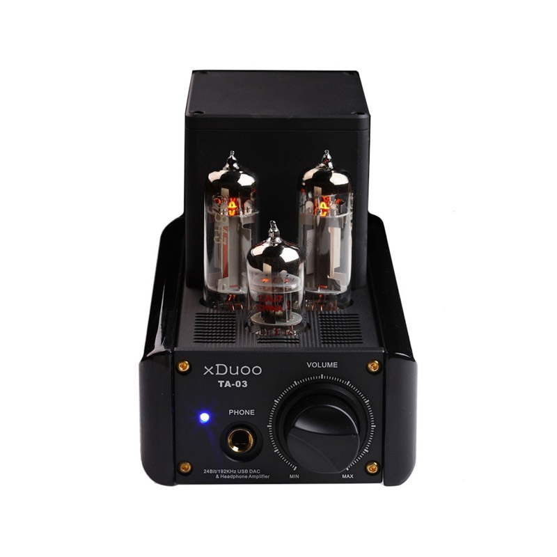 XDUOO TA-03 24Bit/192KHz WM8740 USB DAC Tube Headphone Amplifier