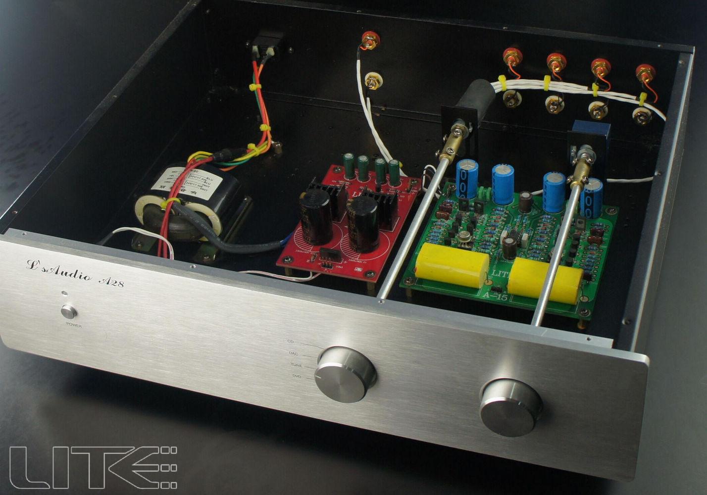 Lite Audio A15 Mark Levinson 20.5 transistor LM394 Preamplifier