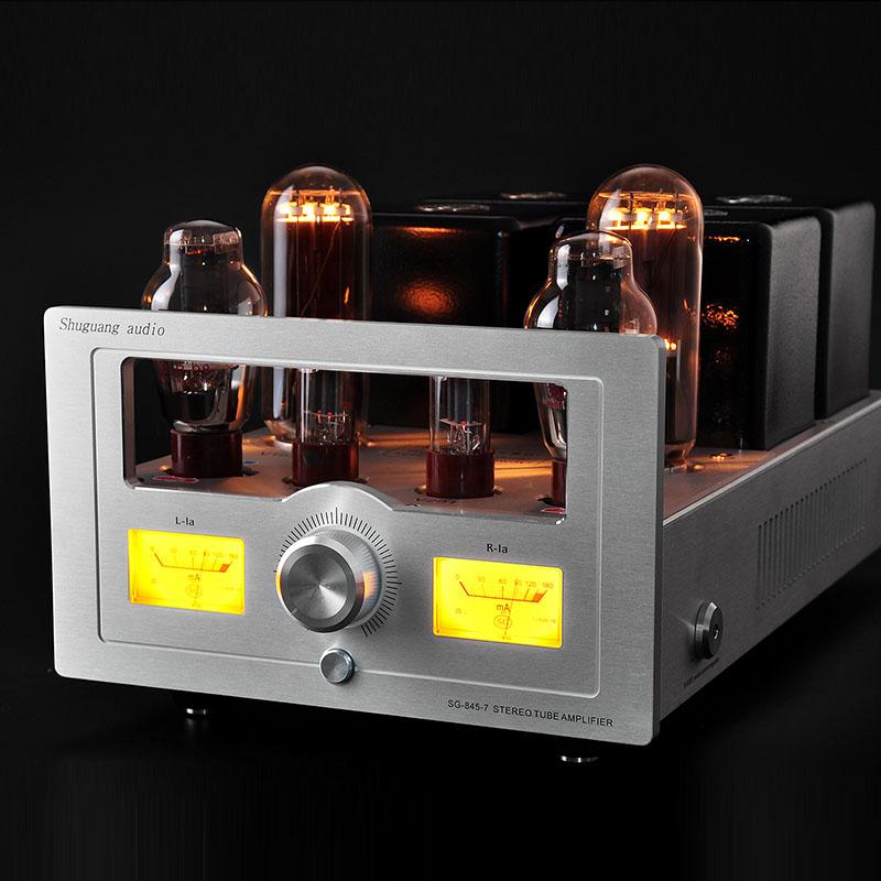 Shuguang SG-845-7 300B 845  Class single-ended Stereo tube Amplifer