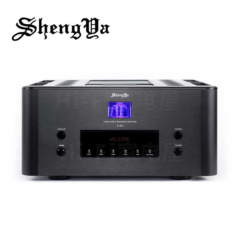ShengYa A-221 HiFi Class A Integrated Amplifier Transistor & Vaccum tube HYBRID Amp