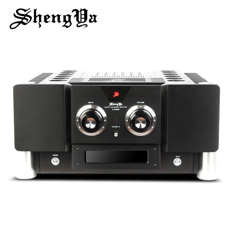 ShengYa A-203MK Signature Pure Class A transistor Integrated Amplifier Hi-END full balanced