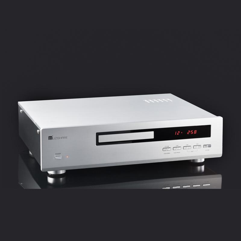MUZISHARE X7CD tube 12AU7 HDCD CD Player & XMOS Asynchronously USB DAC 192KHz