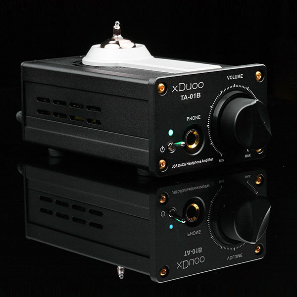 xDuoo TA-01B 12AU7 tub Headphone Amplifier Portabl