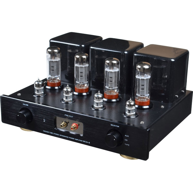 Meixing MC34-B Hifi EL34 tube valve preamp & Integrated Amplifier