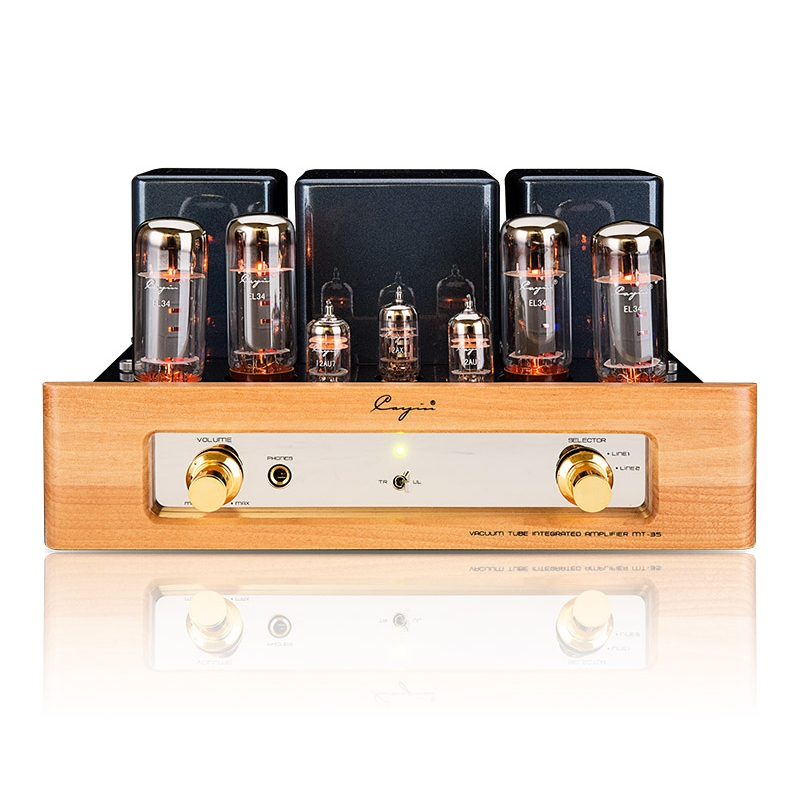 Cayin MT-35 MK2 EL34x4 vacuum Tube Amplifier HiFi Audio Headphone Amplifier