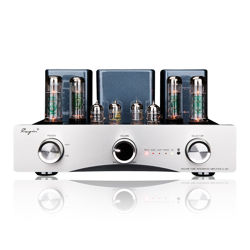 Cayin A-50T EH Version EL34EH/12AX7EH/12AU7EH Vacuum Tube Integrated Amplifier
