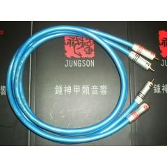 JungSon Beauty Hifi Audio 5N OFC RCA Monitor Signal Cable Pair 1M