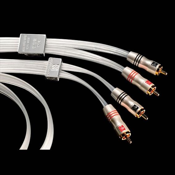 JungSon Silver Coated Copper Hifi Audio RCA Signal Cable