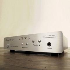 XiangSheng DAC-02A DA Converter Headphone Amplifier USB BNC fiber Silver