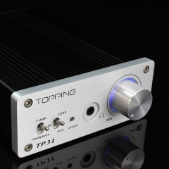 Topping TP31 24bit/192kHz Coaxial DAC Headphone Amplifier