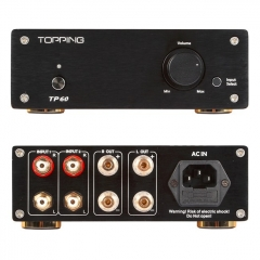 TOPPING TP60 Home Class T Power Amplifier Audio Amp TA2002 Hi Fi Amplifiers 80W Professional Amp