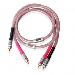 SoundRight SF-Silver RCA Interconnect Cable Pair 1m