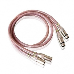SoundRight BF-Silver Hifi Balanced Interconnect Cable XRL Plug
