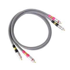 SoundRight SN-3 Hifi Audio Interconnect Cable Gold RCA