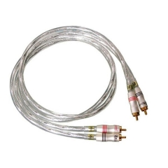 SoundRight SN-2 Hifi Audio Interconnect Cable Gold RCA Pair 1m