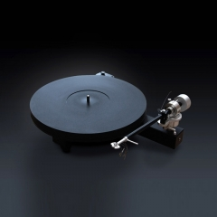 Consonance WAX Engine Black Plastic Turntable LP Player Phono