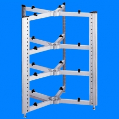 E&T 11-D300-4A1 HiFi Audio Equipments Bookshelf Rack
