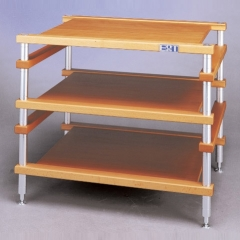 E&T 11-T03 Aluminum Hifi Audio Equipment Rack Stands Shelf