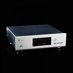 MUZISHARE X5CD Hi-Fi CD HDCD Player Vacuum Tube 12AU7 24Bit/192kHz With Remote