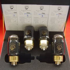 Matched Quad(4) PSVANE Vacuum Tube KT88-T Collection black