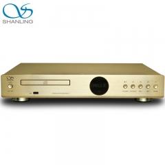 Shanling CD-S100(15) HDCD USB HiFi 24bit/96KHz Vacuum Tube Balanced CD Player Gold