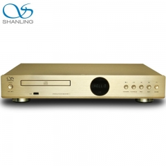 Shanling CD-S100(15) HDCD USB HiFi 24bit/96KHz Vacuum Tube Balanced CD Player Gold