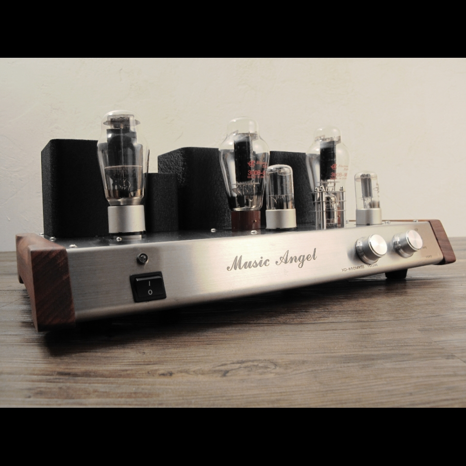 Music Angel 300B Class A Vacuum Tube Rectification Hi-end Integrated Amplifier
