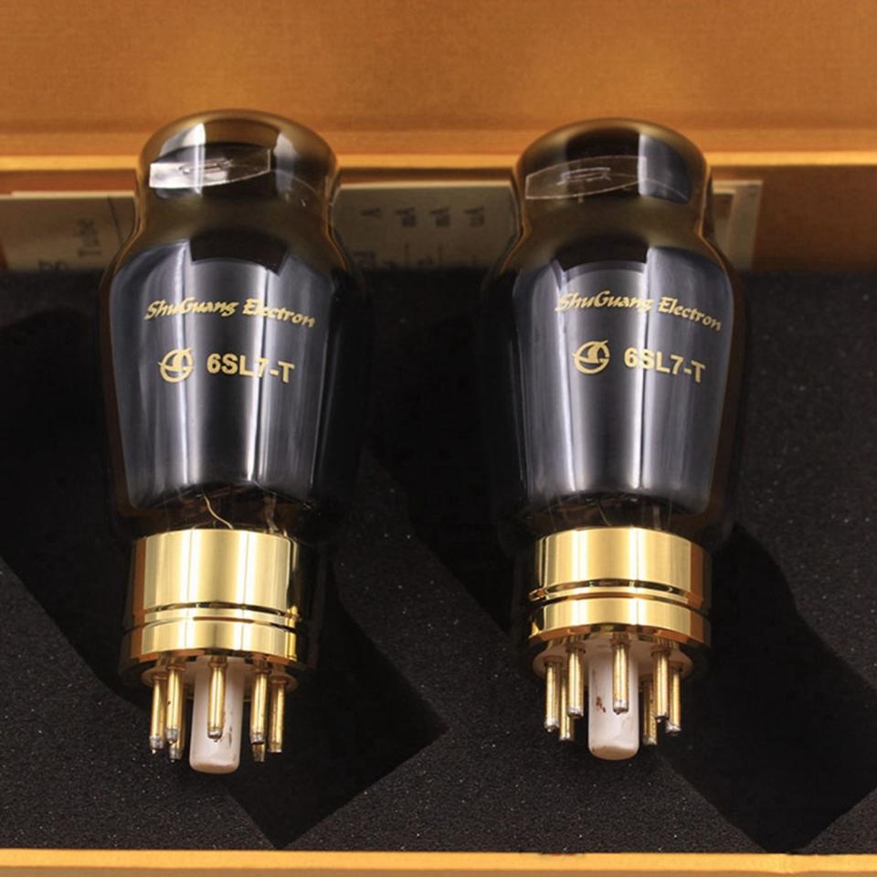 Shuguang Treasure 6SL7-T vacuum tubes Best Matched Pair Replace 6N9P/6H9C