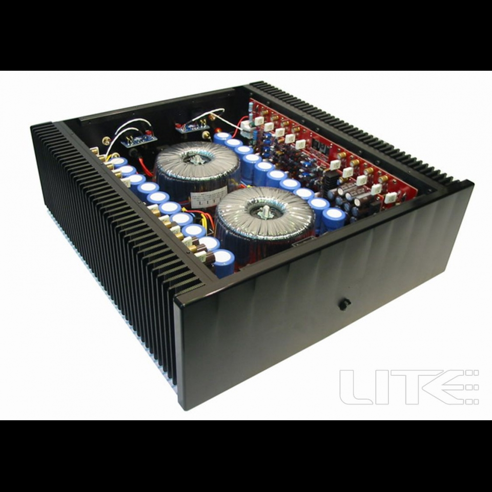 Lite Audio M12 Power Amplifier Full Balanced XLR Class AB 500W*2