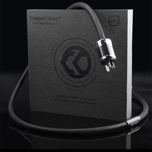 Copper Colour CC BETA AU/US/EURO Schuko Plug Powercord OCC Audiophile Teflon
