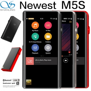 Shanling M5s AK4493EQ Bluetooth DAP DSD WIFI touch Screen Hifi Portable Music Player