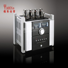 YAQIN MS-120 HiFi Audio Integrated Amp Vacuum tube KT120x4 Amplifier push-pull