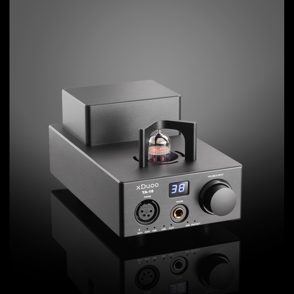 xDuoo TA-10 XMOS USB DSD DAC Balanced Tube Headphone Amplifier