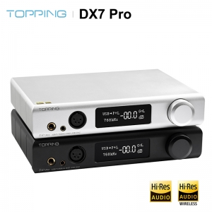TOPPING DX7 Pro ES9038Pro DAC & Headphone amp Bluetooth 5.0 32BIT/768kHz DSD1024 Headphone Amplifier