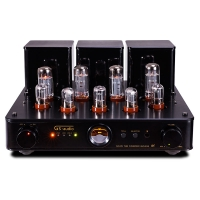 GS-AUDIO R8 4*EL34 HIFI Vacuum tube Amplifier Filter pure Amp With Remote
