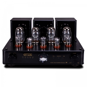GS-AUDIO R8  HIFI 4*6550EH Push-pull Amp Vacuum tube Amplifier With Remote