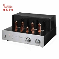 YAQIN 6P1P Vacuum Tube Amp HiFi UL/TR Mode Power Amplifier Headphone Output