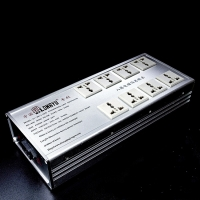 LongYu LY-200-2 Power Socket Power Purifier Filter Radiation Protection 8 Outlet HIFI Power Filter