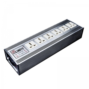 LongYu LY-208-8 680BP High-end Power Socket isolated Power Purifier With 6 output