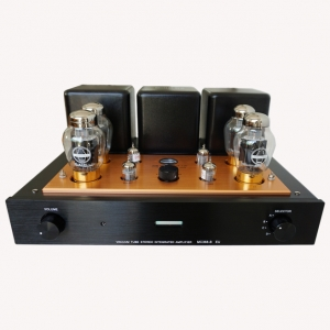 Meixing MC368-B EU HIFI Audiophile Integrated Amplifier KT90*4 vacuum tube Amp With Remote